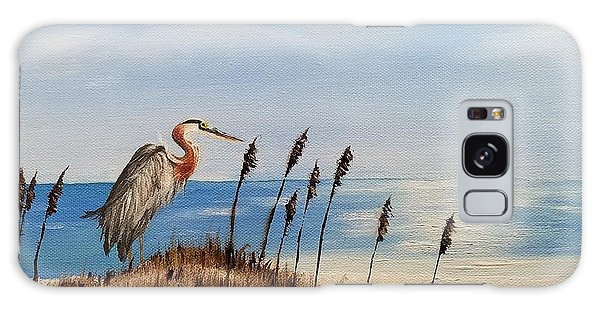 Great Blue Heron - Outer Banks Galaxy Case