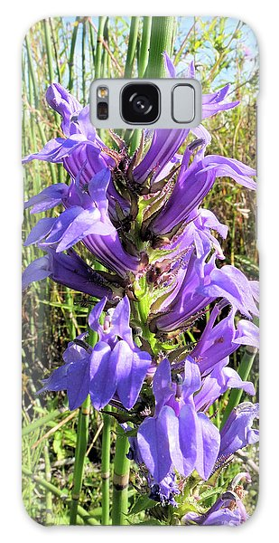 Great Blue Lobelia Galaxy Case