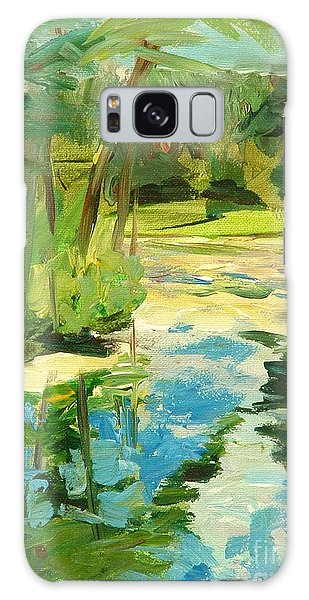 Great Brook Farm Canoe Launch Galaxy Case