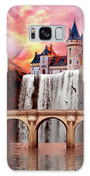 Great Falls Castle Galaxy Case