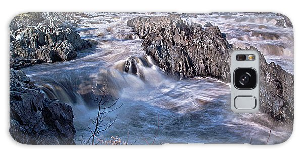Great Falls Virginia Galaxy Case by Suzanne Stout