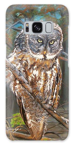 Great Grey Owl 2 Galaxy Case