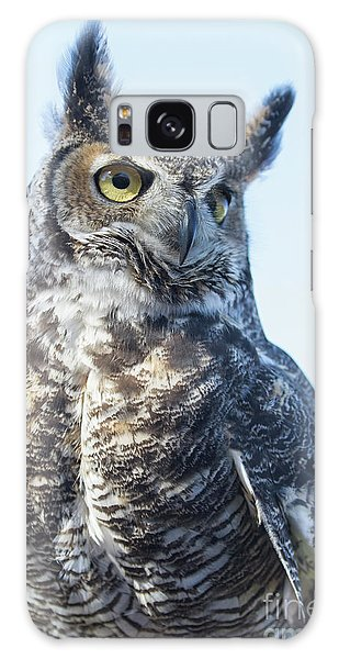 Great Horned Owl 1 Galaxy Case