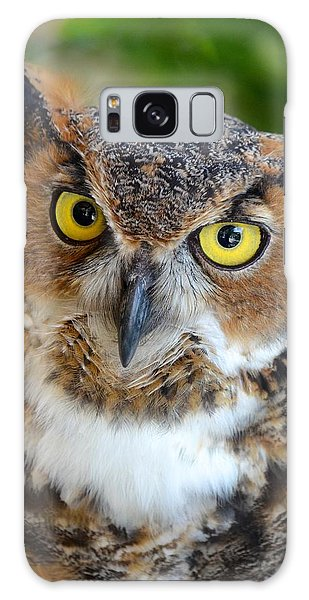 Great Horned Owl  Galaxy Case by Richard Bryce and Family