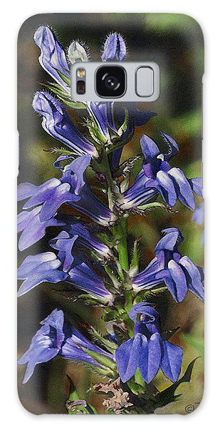 Great Lobelia Blues Galaxy Case