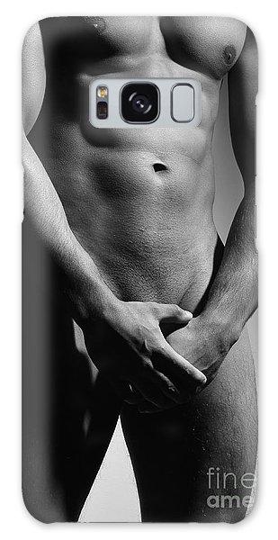 Great Nude Male Body Galaxy Case