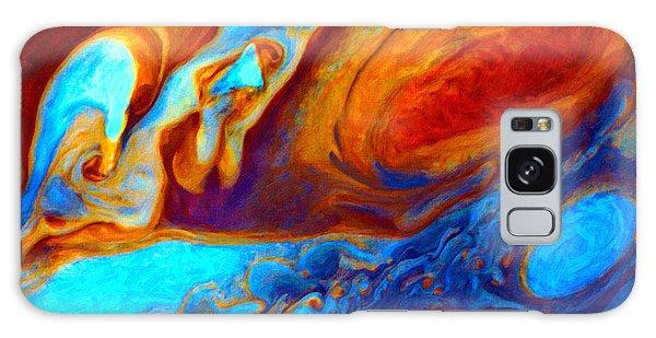 Jovian Turbulence Galaxy Case