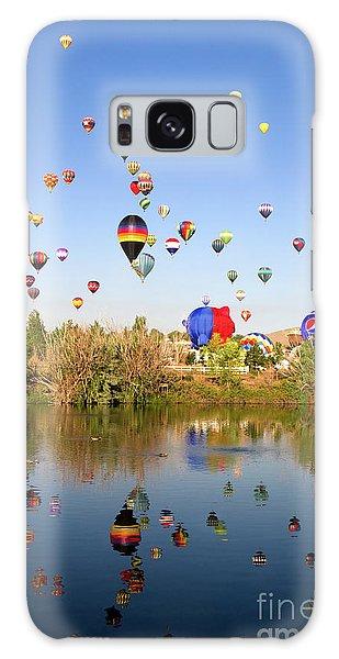 Great Reno Balloon Races Galaxy Case