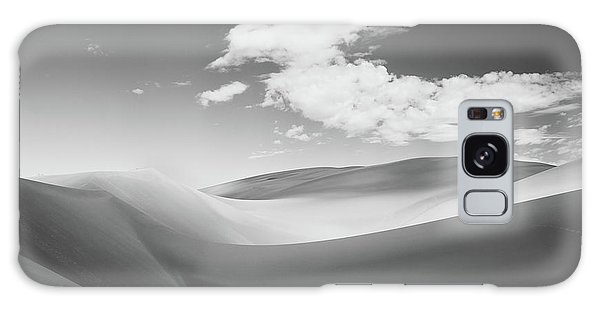 Great Sand Dunes National Park In Black And White Galaxy Case