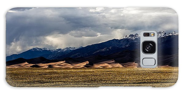 Great Sand Dunes Panorama Galaxy Case