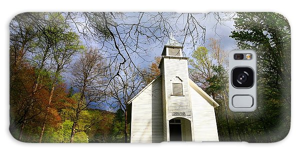 Great Smoky Mountains Spring Storms Over Palmer Chapel  Galaxy Case