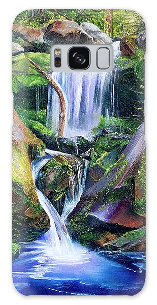 Great Smoky Waterfall Galaxy Case