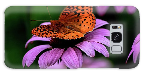 Great Spangled Fritillary Galaxy Case by Brenda Bostic