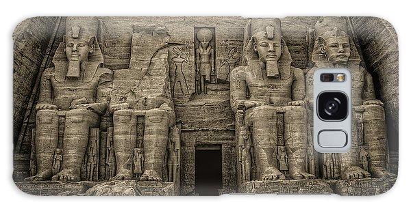 Great Temple Abu Simbel  Galaxy Case