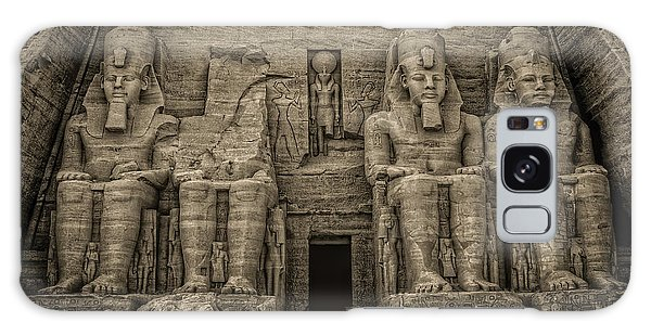 Great Temple Abu Simbel  Galaxy Case