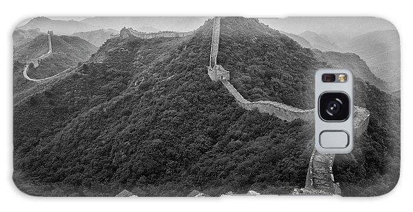 Galaxy Case featuring the photograph Great Wall 2, Jinshanling, 2016 by Hitendra SINKAR