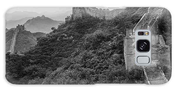 Galaxy Case featuring the photograph Great Wall 3, Jinshanling, 2016 by Hitendra SINKAR