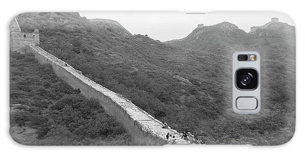 Galaxy Case featuring the photograph Great Wall 4, Jinshanling, 2016 by Hitendra SINKAR
