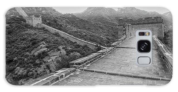 Galaxy Case featuring the photograph Great Wall 5, Jinshanling, 2016 by Hitendra SINKAR