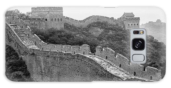 Galaxy Case featuring the photograph Great Wall 8, Jinshanling, 2016 by Hitendra SINKAR