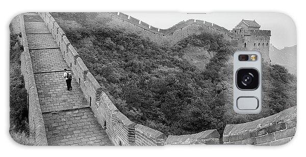 Galaxy Case featuring the photograph Great Wall 9, Jinshanling, 2016 by Hitendra SINKAR