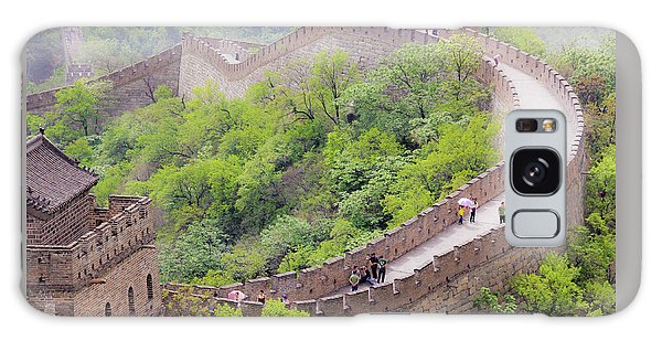 Great Wall At Badaling Galaxy Case