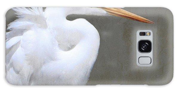 Great White Egret Galaxy Case