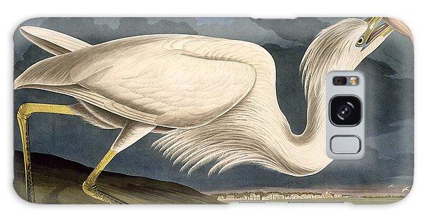 Engraving Galaxy Case - Great White Heron by John James Audubon