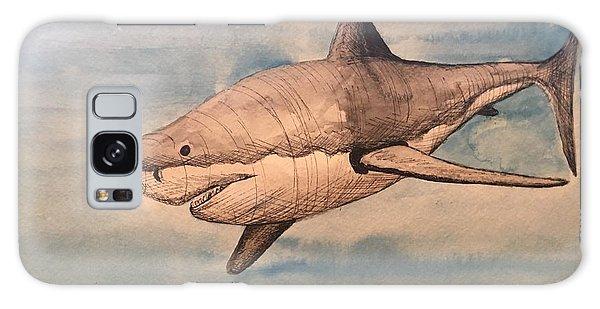 Great White Shark Galaxy Case