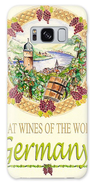 Great Wines Of The World - Germany Galaxy Case by John Keaton