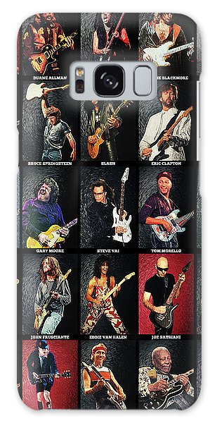 Greatest Guitarists Of All Time Galaxy Case