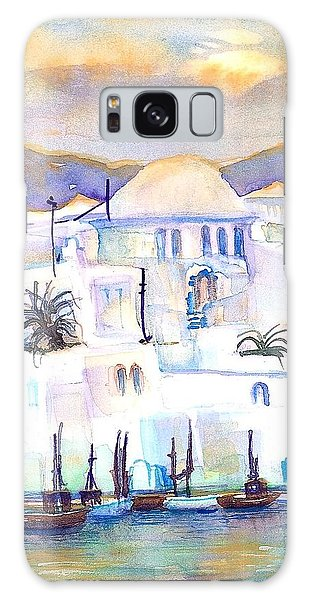 Greece- The White Houses Of Mykonos Galaxy Case