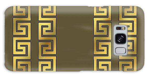 Greek Gold Pattern - Chuck Staley Galaxy Case