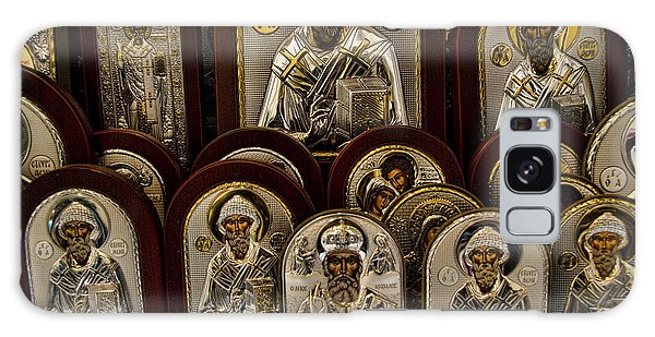Greek Orthodox Church Icons Galaxy Case