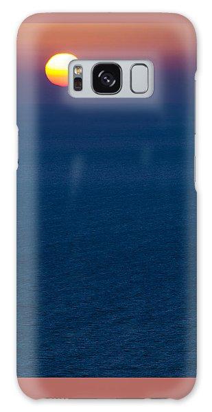 Greek Sunset Galaxy Case