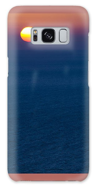 Greek Sunset Galaxy Case
