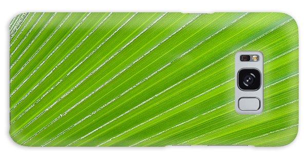 Green Abstract No. 1 Galaxy Case
