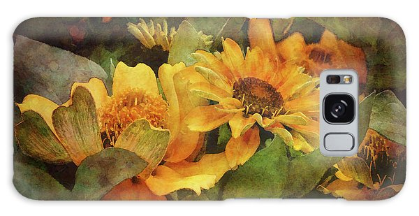 Green And Gold 1068 Idp_2 Galaxy Case