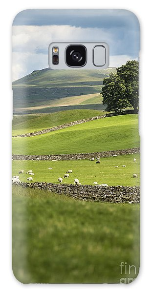 Green And Pleasant Land Galaxy Case