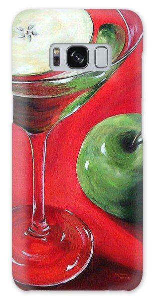 Green Apple Martini Galaxy Case