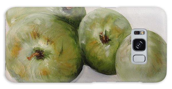 Green Apples Galaxy Case