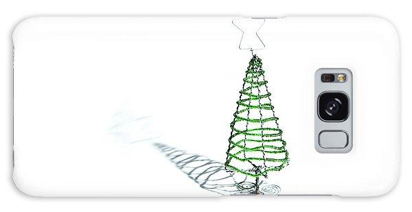 Green Bead Christmas Tree II Galaxy Case