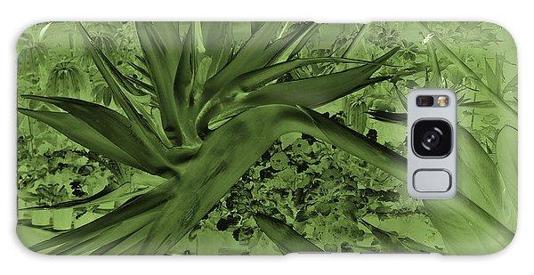 Galaxy Case featuring the photograph Green Bird Of Paradise by Nareeta Martin