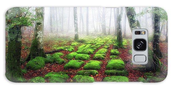 Green Brick Road Galaxy Case