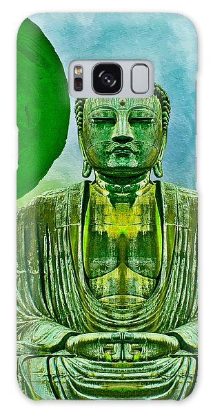 Green Buddha Galaxy Case