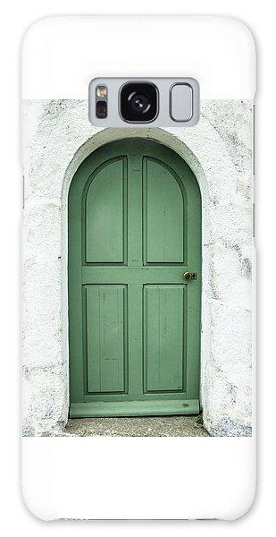 Green Church Door Iv Galaxy Case