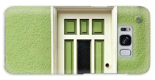 Galaxy Case - Green Door Detail by Julie Gebhardt