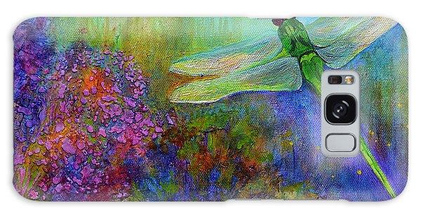 Green Dragonfly Galaxy Case