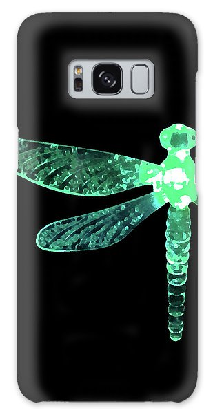 Green Dragonfly Galaxy Case