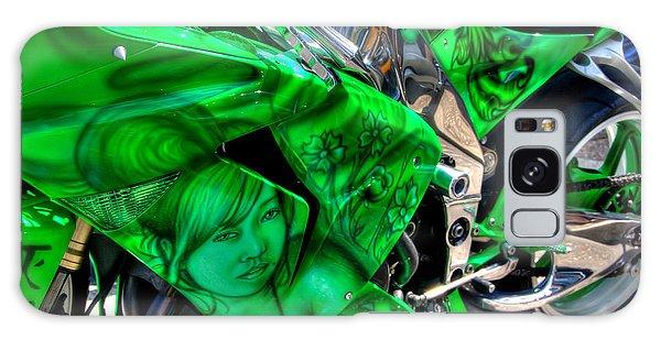 Green Dream Galaxy Case